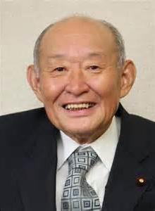 太ひでし後援会会長 藤井裕久 元財務大臣
