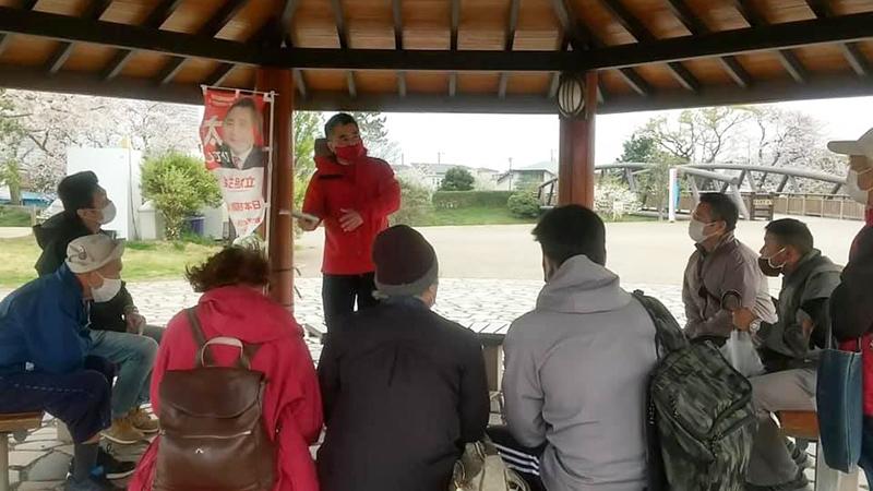 第69回「草の根」タウンミーティング@三川公園